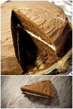 Čokoládová bomba. Tenhle dort je neskromně asi ten nejlepší za poslední dobu co jsem měla a co Vám budu říkat..no je to prostě zároveň i ten nejkaloričtější dort jaký si umíte představit.
