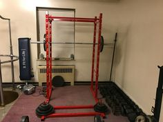 Squat Rack For Local Fire Department