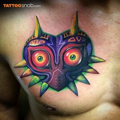 majora's mask tattoo - Google Search