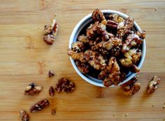 These sticky, nutty, sweet, and slightly salty maple roasted nuts are perfect for snacking alone, or added to your cereal, yogurt, ice cream, salads, and baked goods. And the addition of