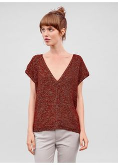modele tricot gratuit pull femme col v mohair knit crochet patterns generators tutos free. Black Bedroom Furniture Sets. Home Design Ideas