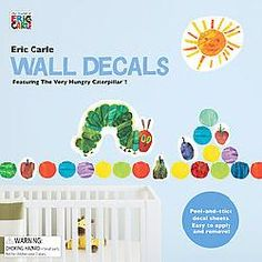 Eric Carle Wall Decals (Hardcover)