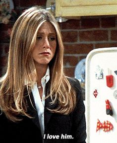 Imagem de gif, Jennifer Aniston, and love Friends Funny Moments, Friends Cast, Friends Episodes, Friends Gif, Friends Series, Friend Memes, Friends Tv Show, Rachel Green Outfits, Jenifer Aniston