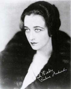 Pauline Frederick (August 12, 1883 — September 19, 1938) was a leading Broadway actress who later became known for her motion picture work. (The Eternal City, Madame X, Smouldering Fires)