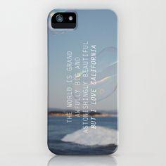 BUT I LOVE CALIFORNIA iPhone Case