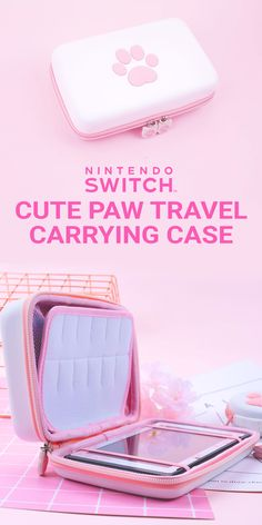 Built-in 12 game card slots and mesh pocket, which allows you to carry and switch your favorite nintendo switch games easily. Two elastic straps allow your switch to sit flat in the case, prevents the switch from dropping out accidentally ✿ #NintendoSwitchAccessories #NintendoSwitchCase #Affiliate Smart Home Appliances, Cute Disney Outfits, Nintendo Switch Case, Nintendo Switch Accessories, Maj, Gaming Headset, Sport Socks, Cute Cases, Cat Paws