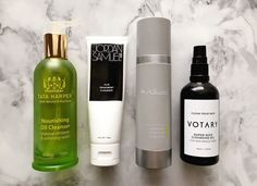 Oil cleansers are so hot right now and I can't get enough of the trend. My current favorites include Tata Harper, Votary, Dr. Alkaitis and Jordan Samuel! But there's always room for more, you know?