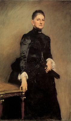 Mrs Adrian Iselin by John Singer Sargent (1856 - 1925)
