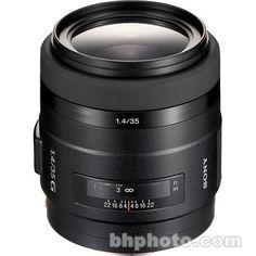 Sony 35mm f/1.4G Wide Angle Prime Lens SAL35F14G B&H Photo Video