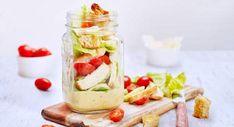 Salade cesar en bocalVoir la recette de la salade cesar en bocal