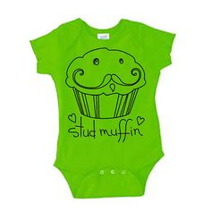 Stud Muffin Onesie now featured on Fab.