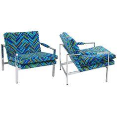 Milo Baughman for Thayer Coggin Lounge Chairs ca1970's