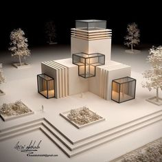 Informations About  Pin You can easily use my profile to examine differ Maquette Architecture, Concept Models Architecture, Architecture Portfolio Layout, Architecture Model Making, Conceptual Architecture, Architecture Concept Drawings, Modern Architecture Design, Interior Architecture, Origami Architecture