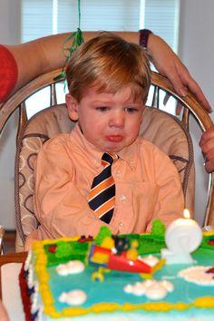 When singing happy birthday isn't so happy.