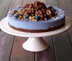 Choc Blueberry Cake (Vegan, Dairy & Gluten-Free)