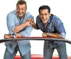 Partners in crime ;) Salman khan nd sanjay dutt. Hollywood Actress Wallpaper, Hollywood Actresses, Indian Actresses, Salman Khan Wallpapers, Salman Khan Photo, Movie Teaser, Saif Ali Khan, Vintage Bollywood, Bollywood Stars