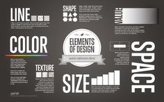 16 Design Elements And Principles Visual Identification Images - Visual Design Principles and Elements, Activity 1 Part Features CAD Model and Elements of Design Quick Reference Sheet Web Design, Design Basics, Graphic Design, Logo Design, Design Guidelines, Design Art, Branding Design, Elements And Principles, Elements Of Design