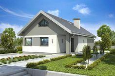 Zdjęcie projektu Złotlinek DM-6596 KRF2700 N21, Home Fashion, Beautiful Homes, Shed, Villa, Outdoor Structures, Cabin, Mansions, House Styles