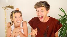 Zoe and Mark are the funniest Mark Ferris, Zoella Hair, Zoe Sugg, British Youtubers, Vlog Squad, I Adore You, Best Friendship, You're Beautiful, Celebs