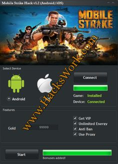 Mobile Strike Hack v1.2