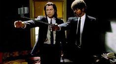 Les flingues remplacés par des selfie-sticks dans des scènes cultes : Pulp Fiction de Tarantino