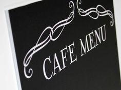Cafe Menu, Chalkboard Quotes, Art Quotes, Coffee Shop Menu