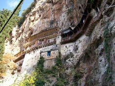 Monastery of St John the Baptist Wallpaper App, John The Baptist, Capital City, Mount Rushmore, Greece, Beautiful Places, Saints, Around The Worlds, Mountains