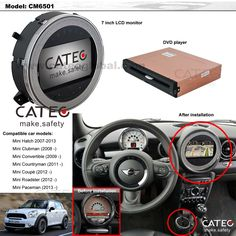 Car accessories for MINI Countryman, car GPS navigation for MINI countryman