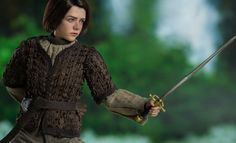 Game of Thrones Arya Stark Sixth Scale Figure by Threezero Game Of Thrones Collectibles, Game Of Thrones Arya, Maisie Williams, Arya Stark, Action Figures, Scale, Sideshow, Games, Weighing Scale