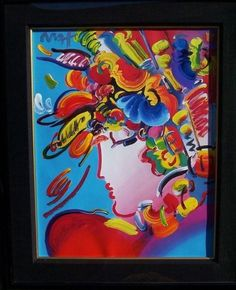 Blushing Beauty-Peter Max  Peter Max, one of Christy's favorite artist!