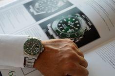 rolex submariner hulk wristshot