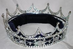 British Royal Tiaras and Crowns | ... Queen /Queen king unisex rhinestone silver full Tudor Royal Crown