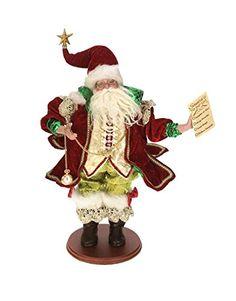 "Mark Roberts Collectible Santa's List Christmas Display Figure 18"" #51-42006. #SantaClaus #Santa #Claus #Christmas  #Figurine #Decor #Gift #gosstudio .★ We recommend Gift Shop: http://www.zazzle.com/vintagestylestudio ★"