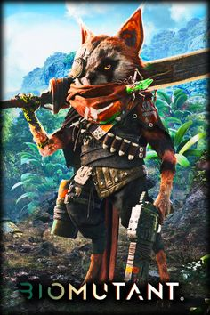 Biomutant Will Be an Absolute Masterpiece, According to THQ Nordic | #gaming #biomutant #thqnordic #pc #ps4 #xone #xboxone #videogames #games #gamescom2017