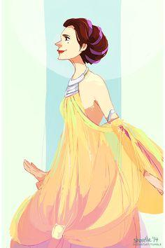 Star Wars - Padme's Lake Dress by shorelle