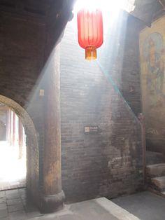 Family Qiao's court-yard house, near Pingyao, China.