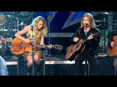 "I haven't pinned video before, mainly because...MY COMPUTER IS TOO SLOW TO WATCH IT MYSELF. So please enjoy ""Two Steps Behind (Live) - Def Leppard & Taylor Swift."""