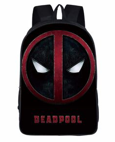 a52a44ac13d0 New Deadpool Backpack For Kids Cool Deadpool School Bags