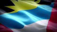 Flag of Antigua and Barbuda Antigua And Barbuda Flag, Travel, Voyage, Viajes, Traveling, Trips, Tourism