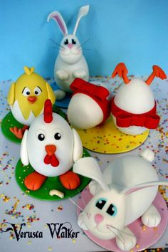 More Verusca Walker's Easter Egg designs tutorial on YouTube