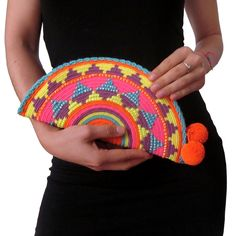 Handmade and Fair Trade Wayuu Clutches – LOM Handmade Clutch, Handmade Bags, Crochet Handbags, Crochet Purses, Mochila Crochet, Tapestry Crochet Patterns, Tapestry Bag, Knitted Bags, Crochet Designs