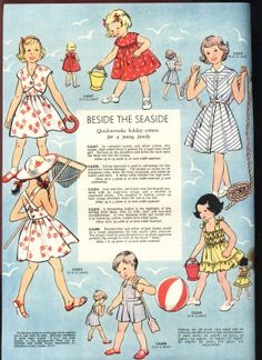 Inside Woman and Home magazine from August 1953