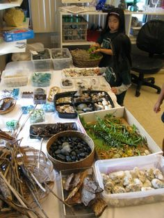 Beautiful provocation and display of materials