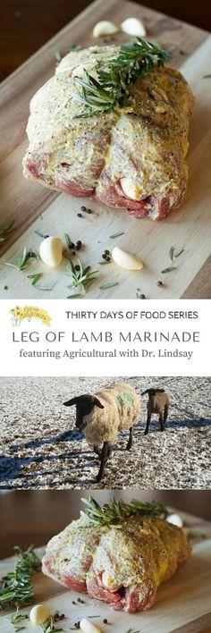 of Lamb Marinade Leg of Lamb Marinade featuring Agricultural with Dr. Lindsay - Prairie CalifornianLeg of Lamb Marinade featuring Agricultural with Dr. Roast Beef Recipes, Lamb Recipes, Greek Recipes, Cooking Recipes, Healthy Recipes, Leg Of Lamb Marinade, Beef Marinade, Lamb Dishes, Chicken Marinades