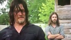 "Brothers. ❤️ #TheWalkingDead #WalkingDead #TWD - follow @walkingdeadbase for more! | The Finder ""Jesus"" finds Daryl....Daryl returns! 