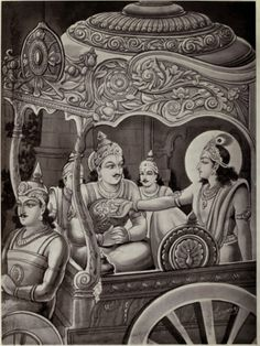 The Epic of Destiny and Deceit: radheya and krishna.