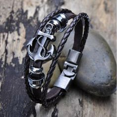 Order Now Men Fashion Cool ... Click here http://shopfromphone.myshopify.com/products/men-fashion-cool-pu-metal-anchor-bracelet-wristband-gifts-jewelry?utm_campaign=social_autopilot&utm_source=pin&utm_medium=pin Place your order now, while everything is still in front of you.