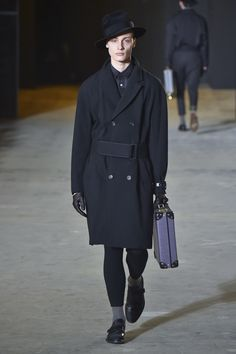Robert Geller Menswear Fall Winter 2016 New York