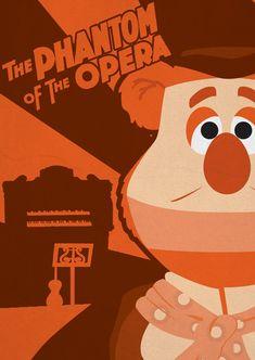 The Phantom of the Opera - Muppet Monster Poster by Gr8Gonzo on deviantART