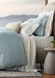 Inspired by linens on the world's finest beds, the Resort Egyptian Cotton Channeled Sheeting Collection pairs unrivaled softness with polished good looks. Breathable 100% long-staple combed Egyptian cotton fibers are sateen woven to an elegant 600 thread count, resulting in a smooth feel, glossy sheen and excellent drape. The only thing missing is the turndown service.